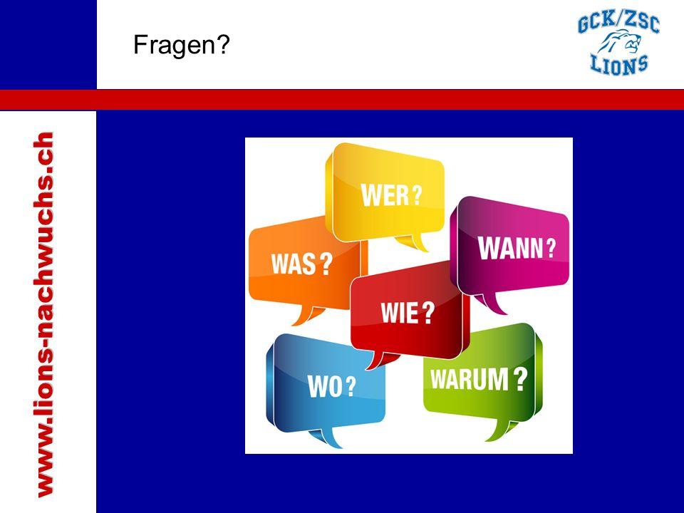 www.lions-nachwuchs.ch Fragen Traktanden