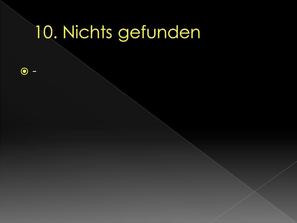 10. Nichts gefunden -