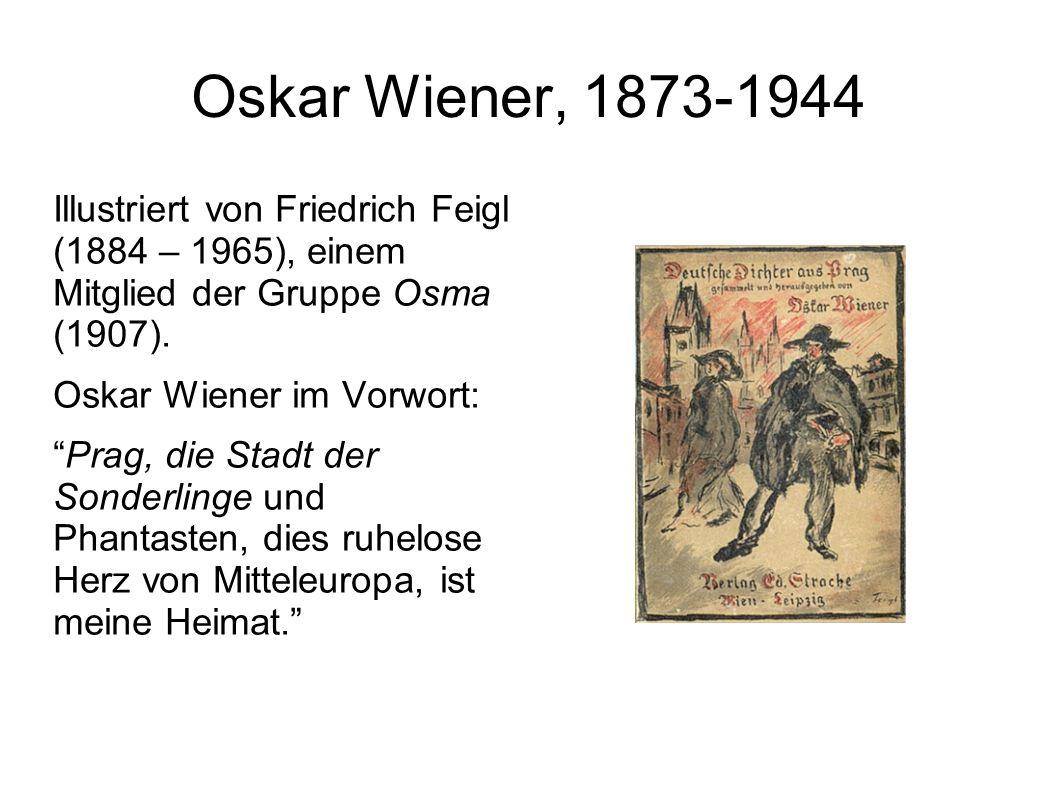 Oskar Wiener, 1873-1944