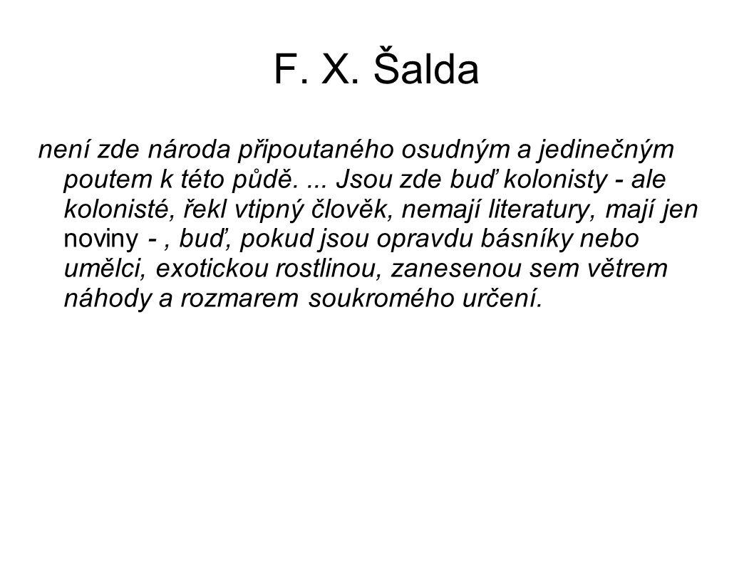 F. X. Šalda