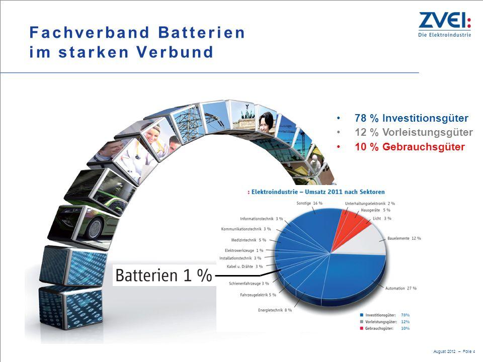 Fachverband Batterien im starken Verbund