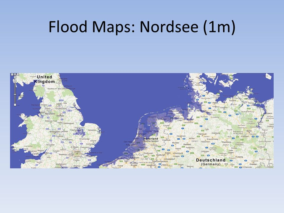 Flood Maps: Nordsee (1m)