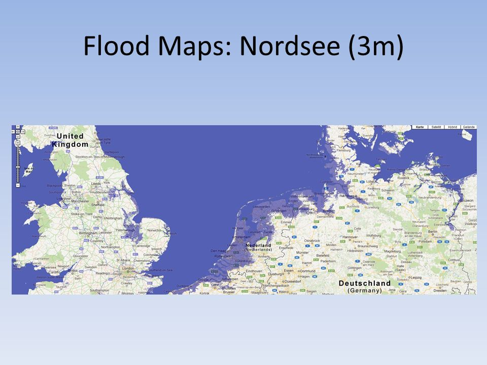 Flood Maps: Nordsee (3m)