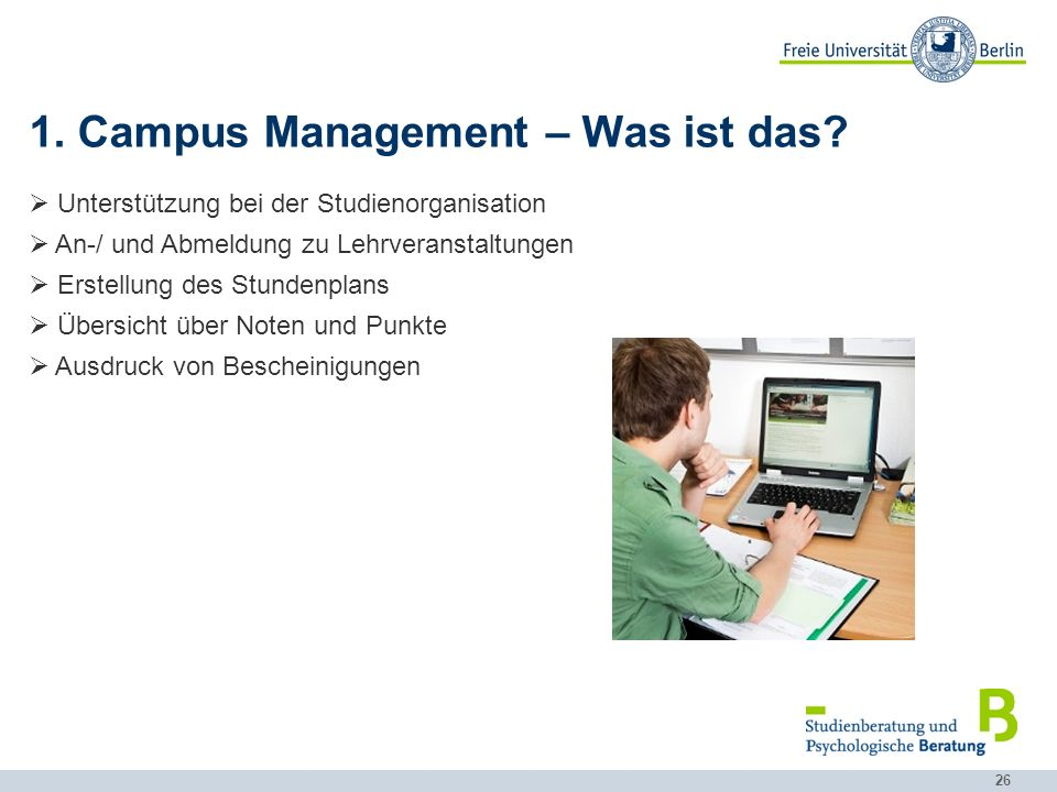 1. Campus Management – Was ist das