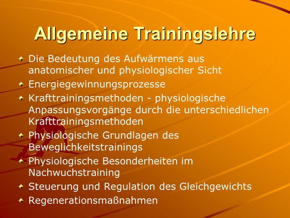 Allgemeine Trainingslehre