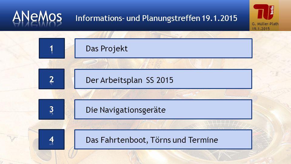 ANeMos Informations- und Planungstreffen 19.1.2015