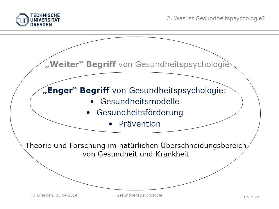 """""""Weiter Begriff von Gesundheitspsychologie"""
