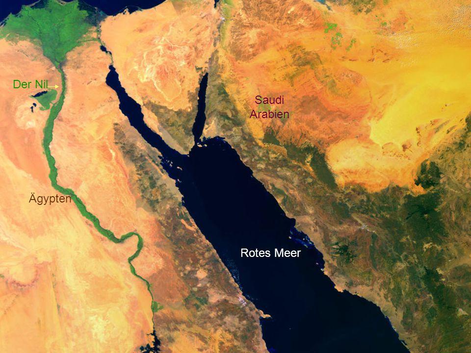 Der Nil Saudi Arabien Ägypten Rotes Meer