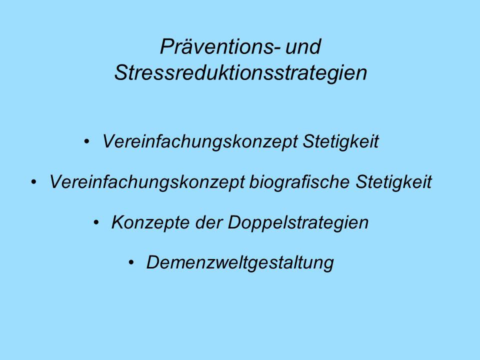 Präventions- und Stressreduktionsstrategien