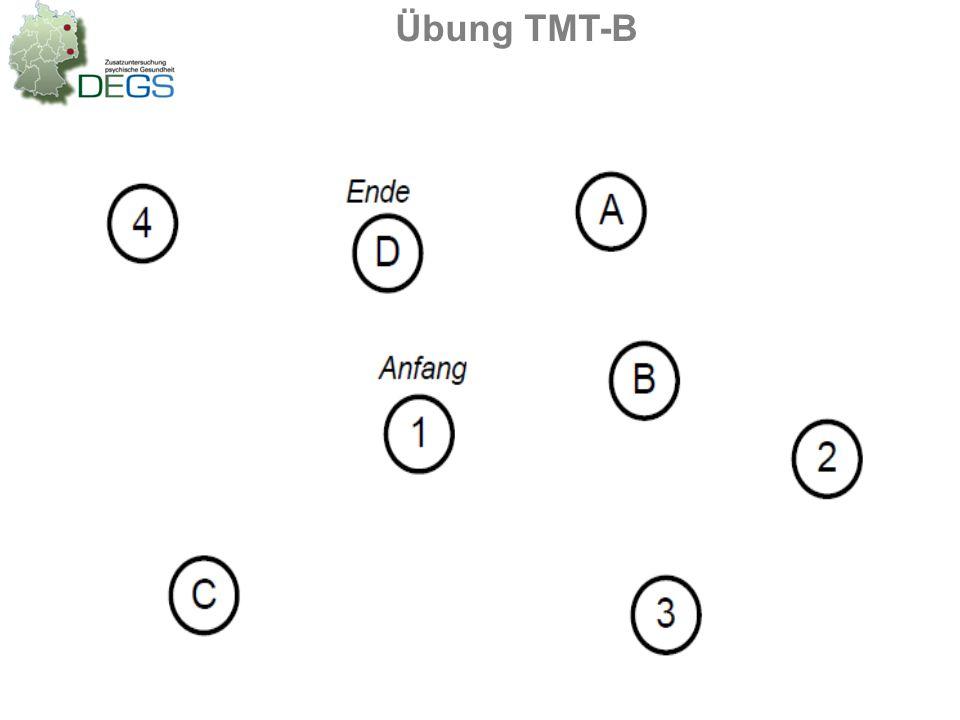 Übung TMT-B
