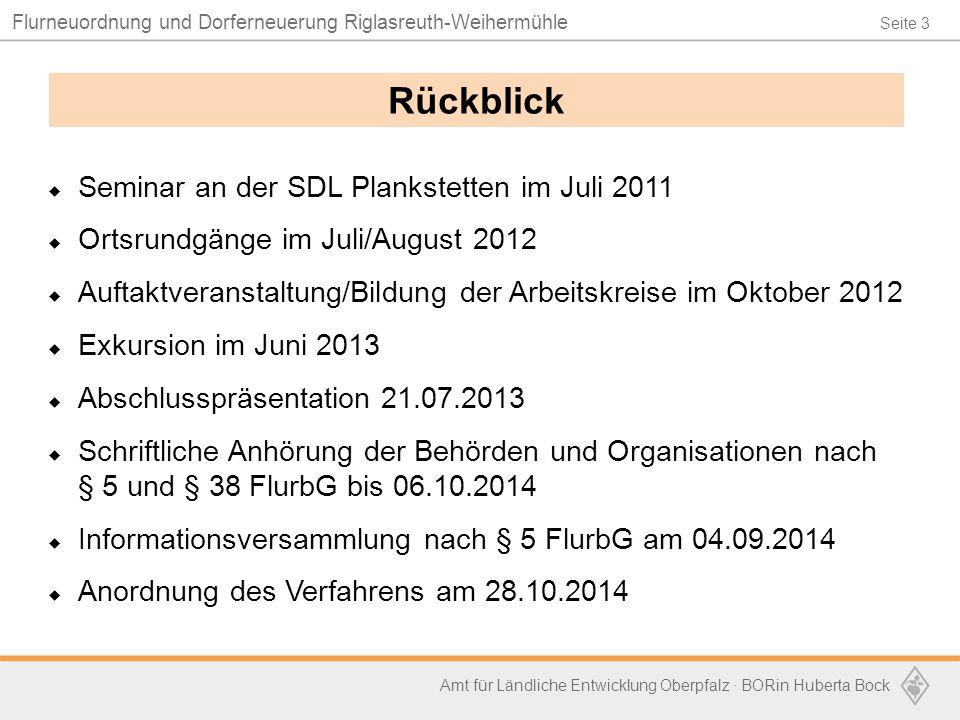 Rückblick Seminar an der SDL Plankstetten im Juli 2011
