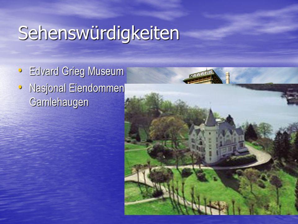 Sehenswürdigkeiten Edvard Grieg Museum Nasjonal Eiendommen Gamlehaugen