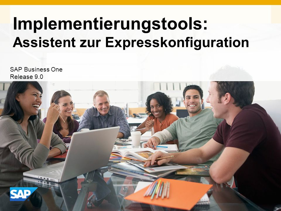Implementierungstools: Assistent zur Expresskonfiguration