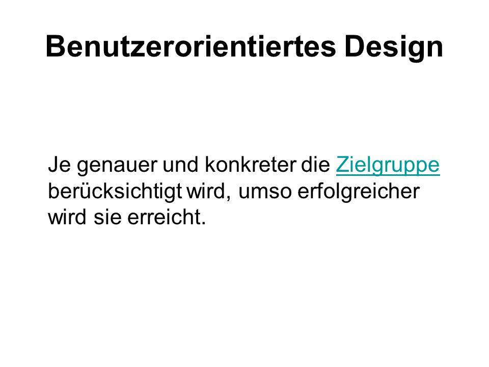 Benutzerorientiertes Design