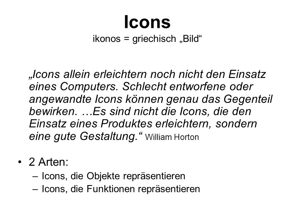 "Icons ikonos = griechisch ""Bild"