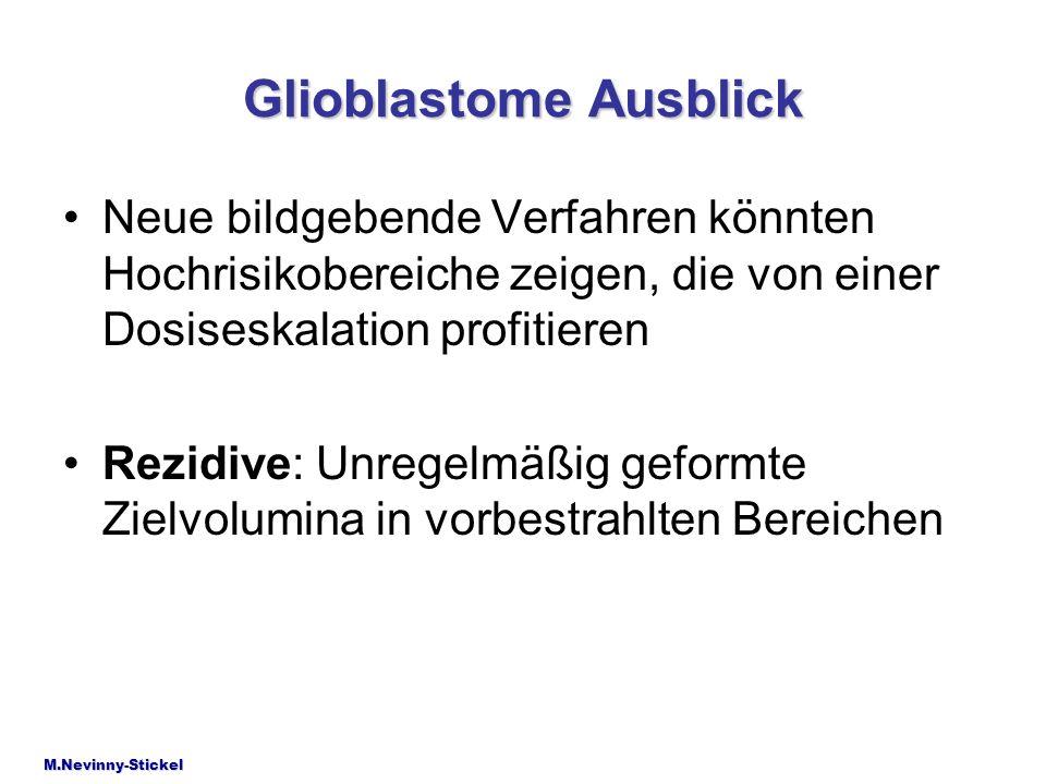 Glioblastome Ausblick