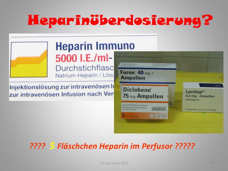 Heparinüberdosierung