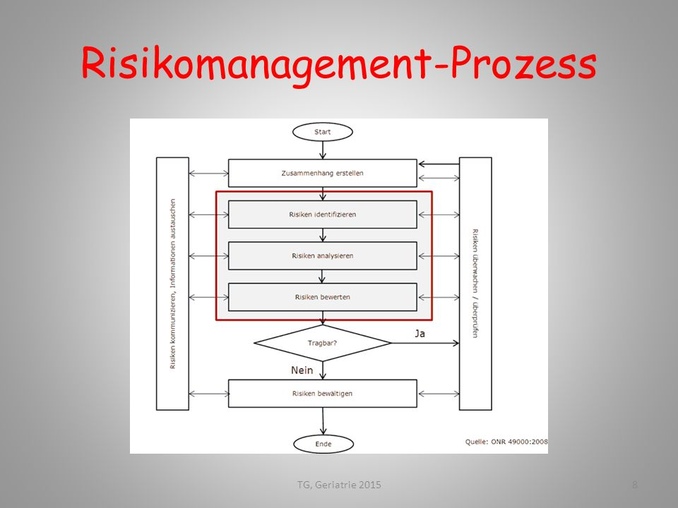 Risikomanagement-Prozess