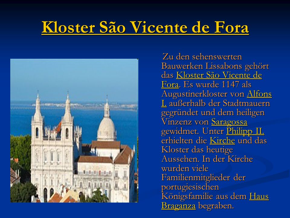 Kloster São Vicente de Fora