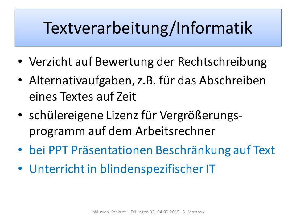Textverarbeitung/Informatik