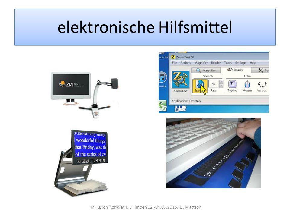 elektronische Hilfsmittel