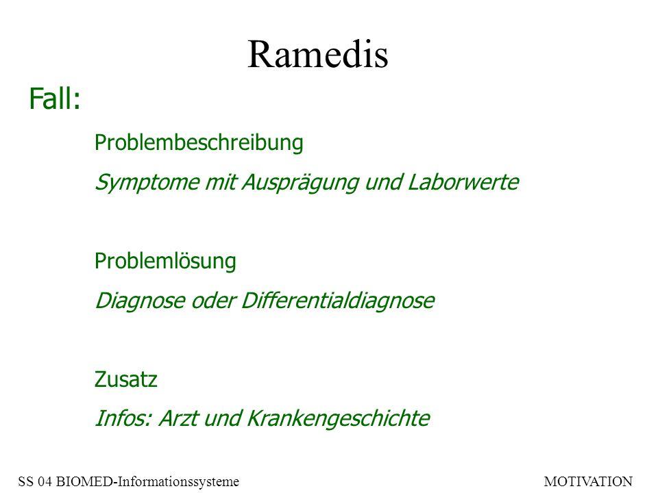 Ramedis Fall: Problembeschreibung