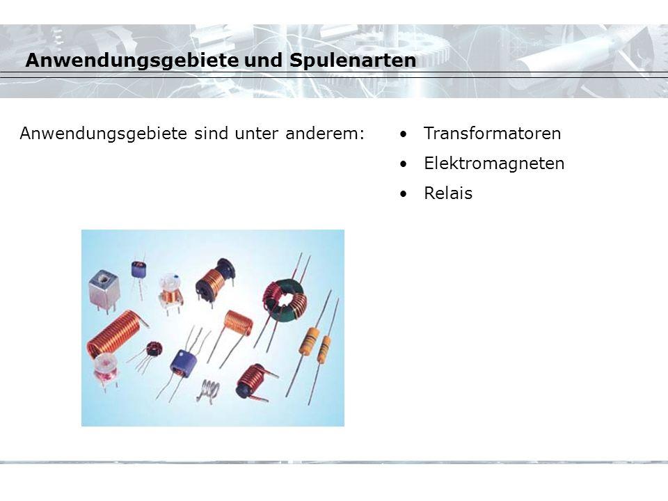 Anwendungsgebiete und Spulenarten