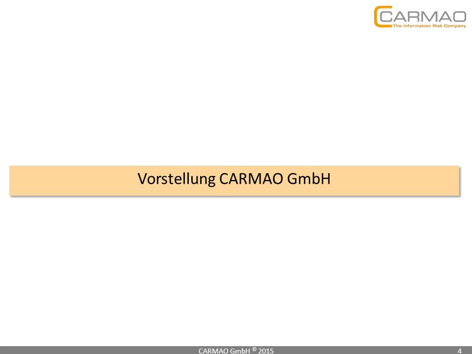 Vorstellung CARMAO GmbH