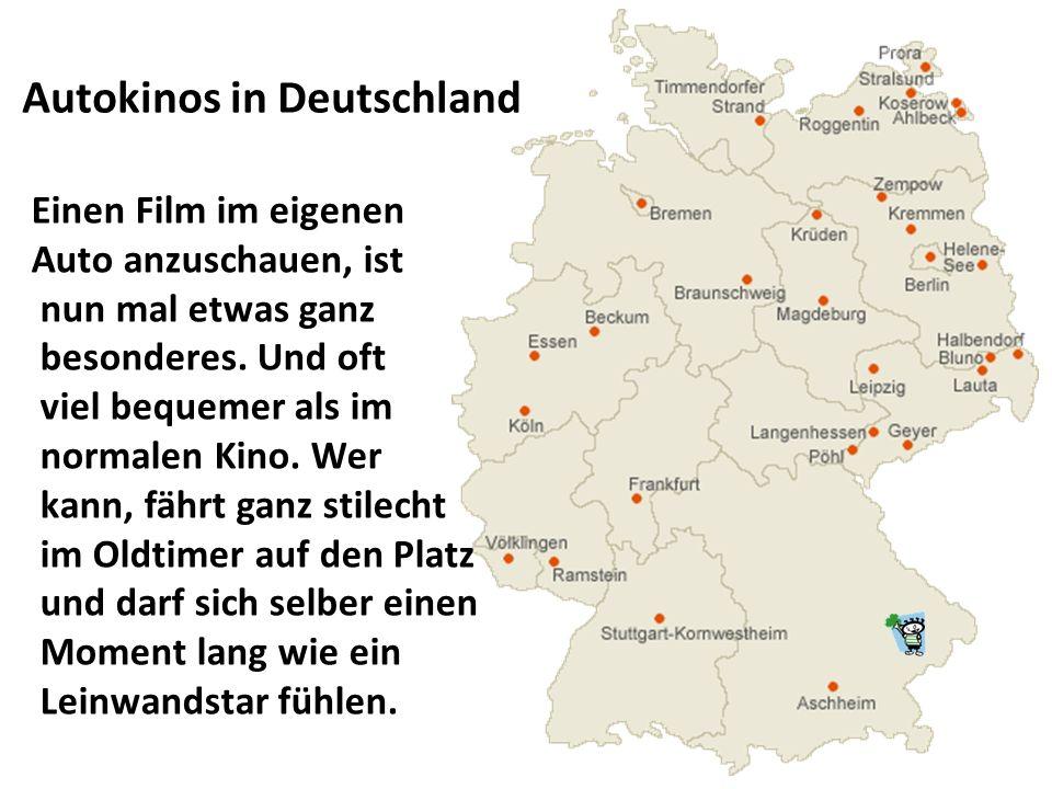 Autokinos in Deutschland