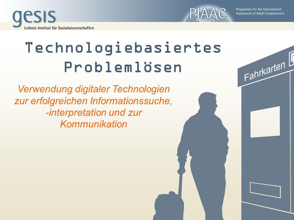 Technologiebasiertes Problemlösen