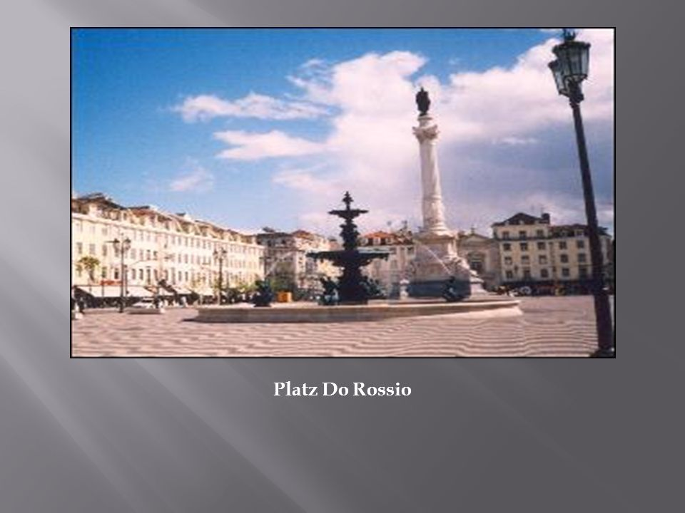 Platz Do Rossio