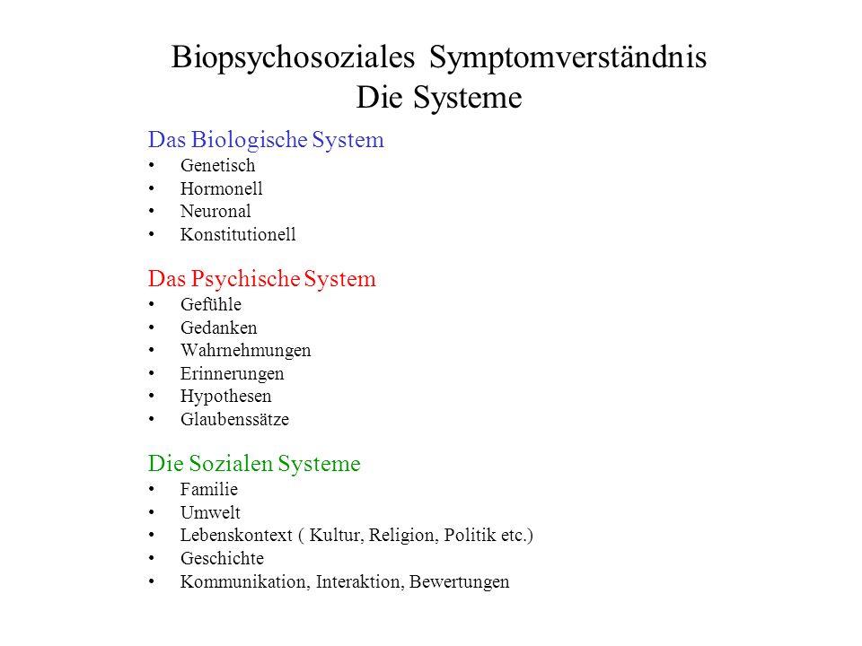 Biopsychosoziales Symptomverständnis Die Systeme