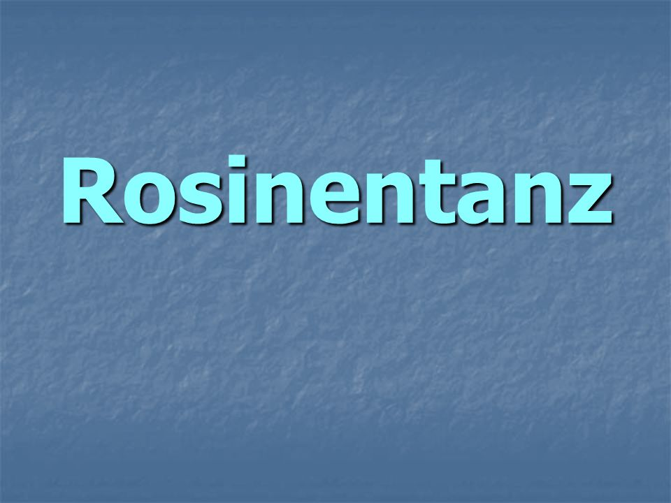 Rosinentanz