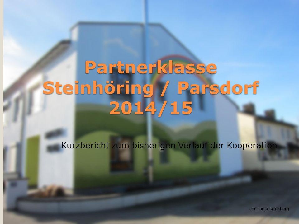 Partnerklasse Steinhöring / Parsdorf 2014/15