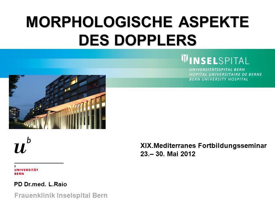 MORPHOLOGISCHE ASPEKTE DES DOPPLERS