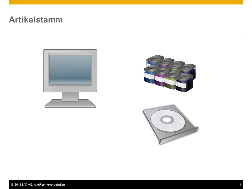 Artikelstamm Mit SAP Business One können Sie sämtliche Artikel verwalten, die Sie kaufen, fertigen, verkaufen oder lagern.