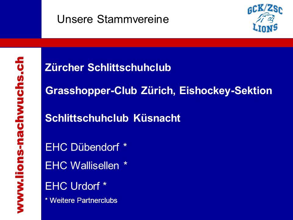 Traktanden Unsere Stammvereine www.lions-nachwuchs.ch