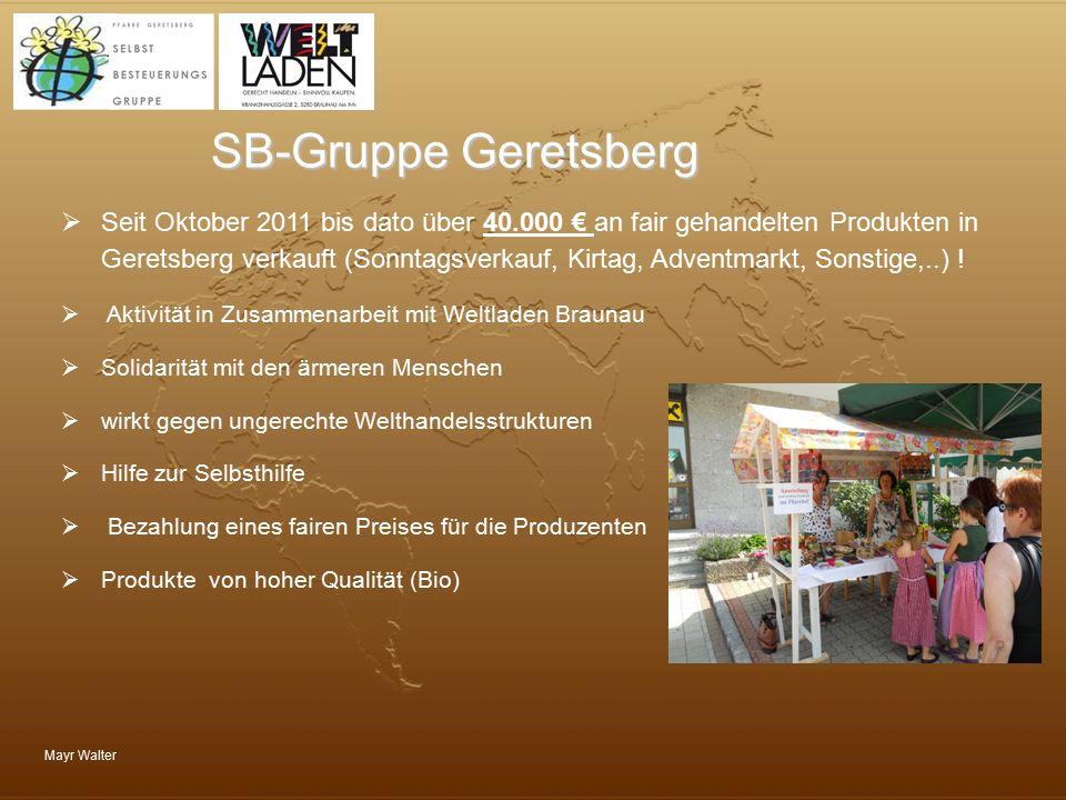 SB-Gruppe Geretsberg