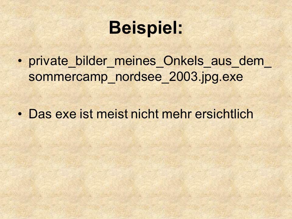 Beispiel: private_bilder_meines_Onkels_aus_dem_sommercamp_nordsee_2003.jpg.exe.