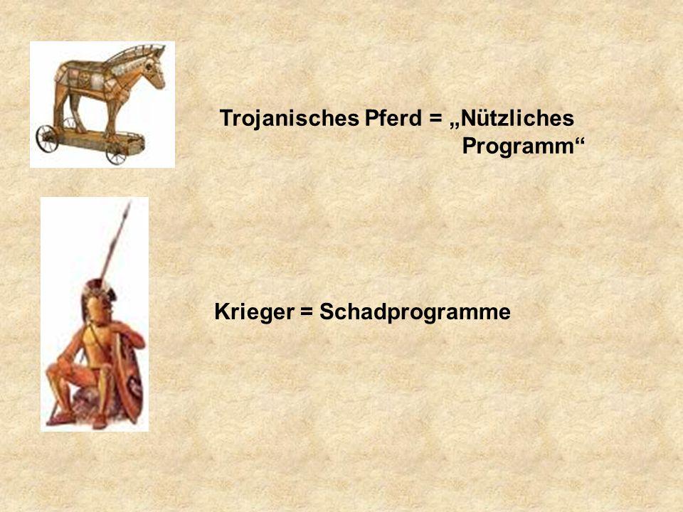 """Trojanisches Pferd = """"Nützliches Programm"""