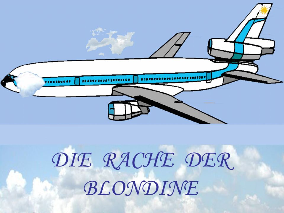 DIE RACHE DER BLONDINE