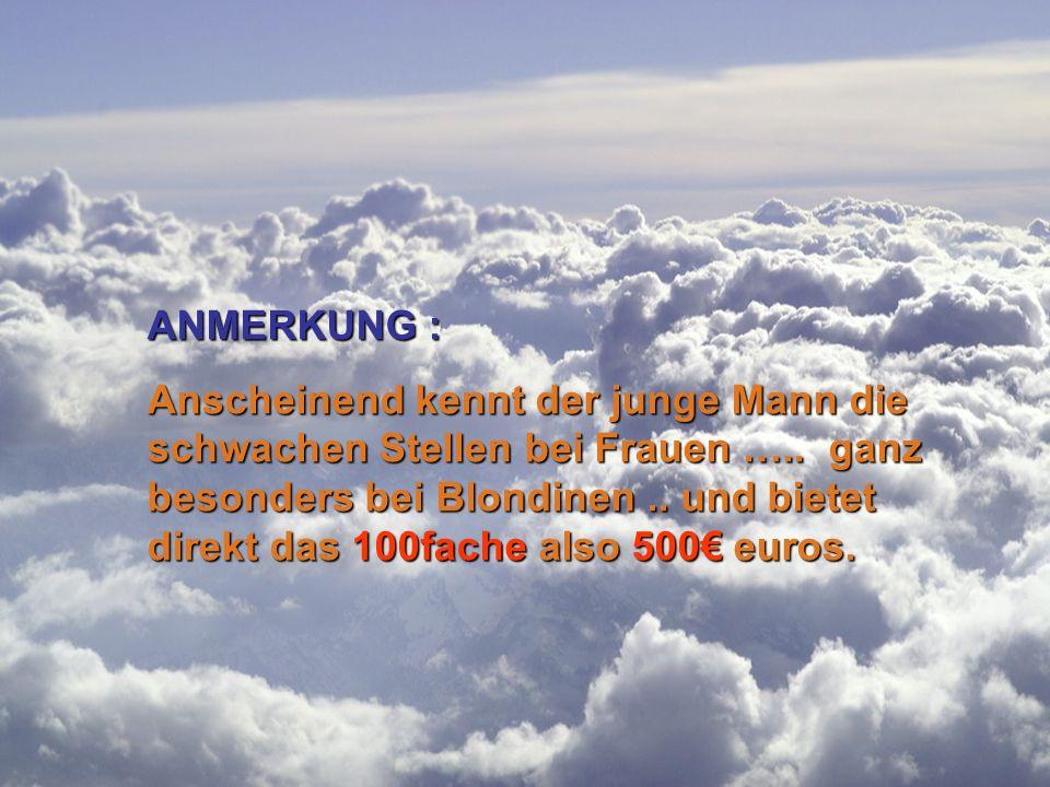 ANMERKUNG :
