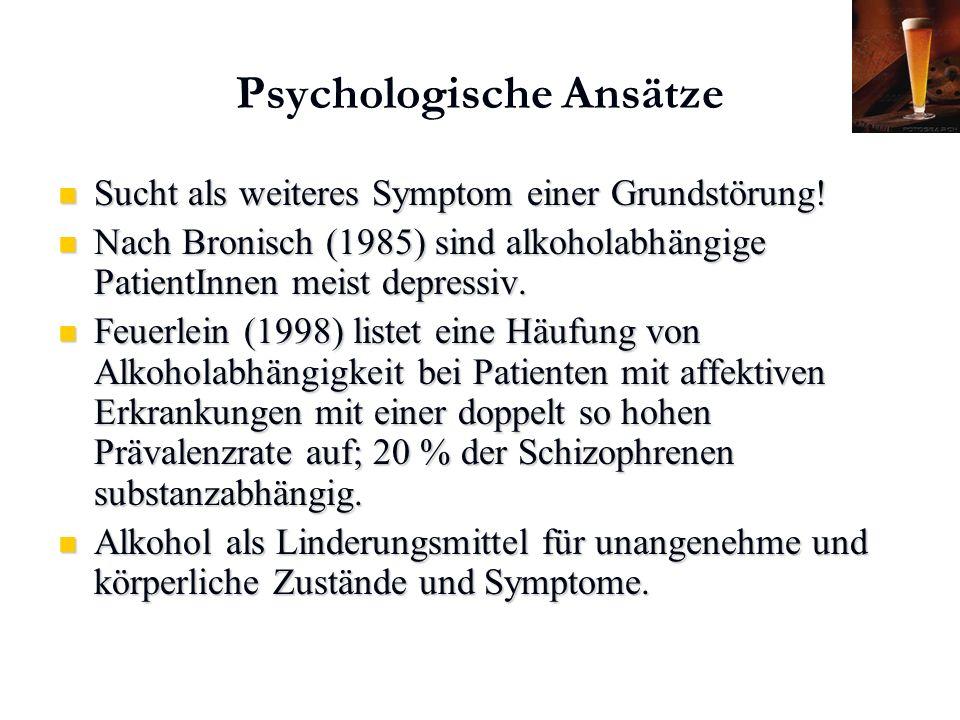 Psychologische Ansätze