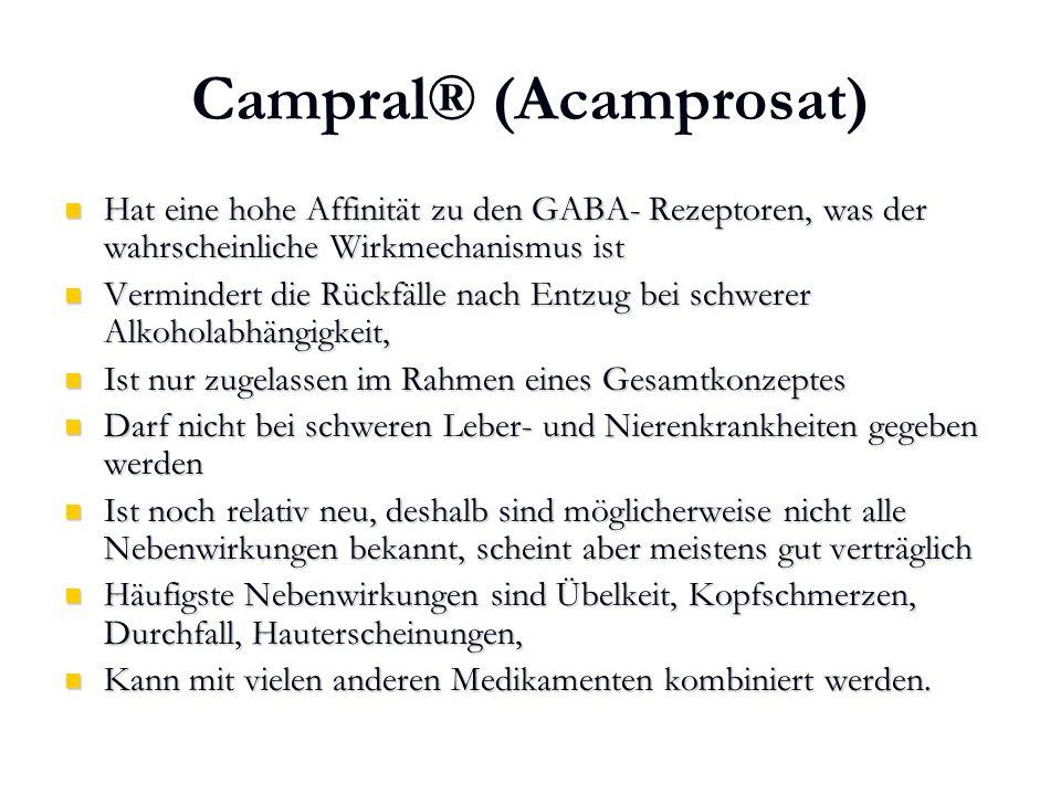 Campral® (Acamprosat)