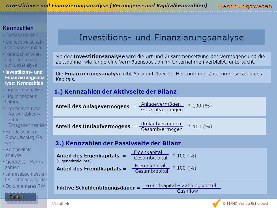 Investitions- und Finanzierungsanalyse