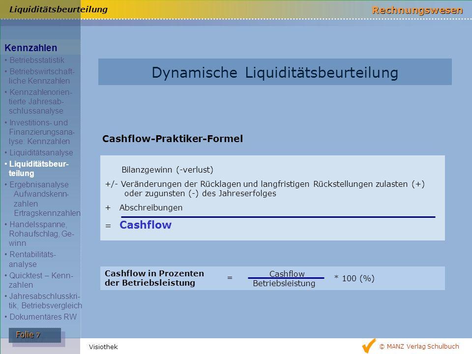 Dynamische Liquiditätsbeurteilung