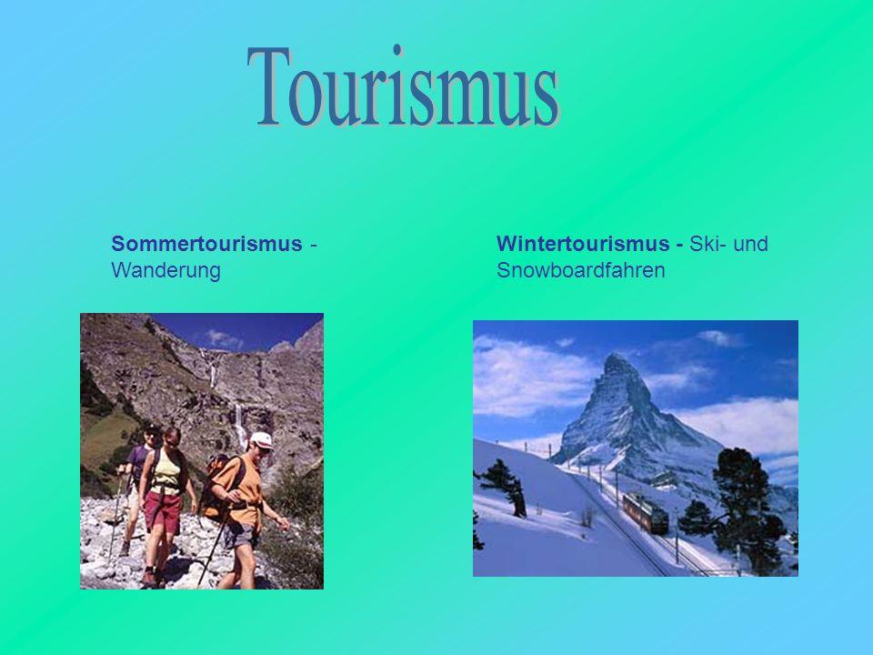 Tourismus Sommertourismus - Wanderung
