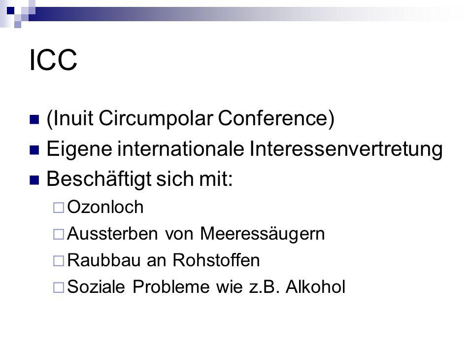 ICC (Inuit Circumpolar Conference)