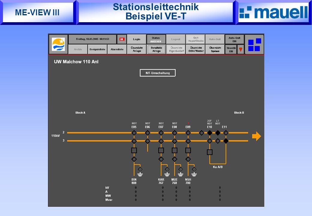 Stationsleittechnik Beispiel VE-T