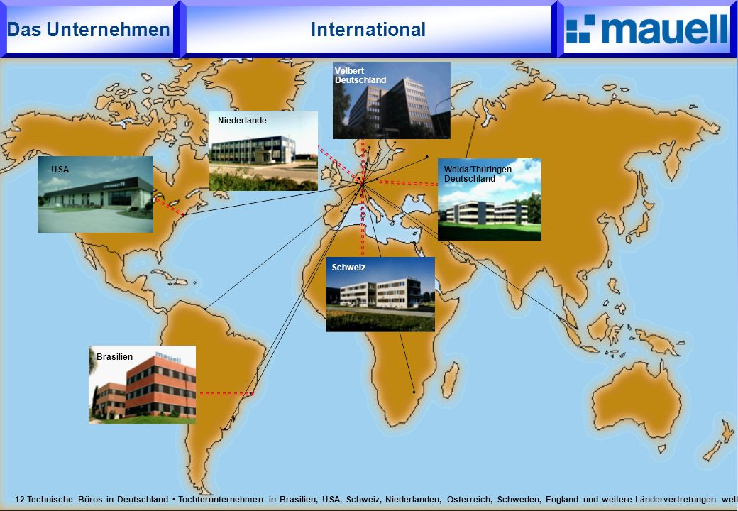 International Das Unternehmen